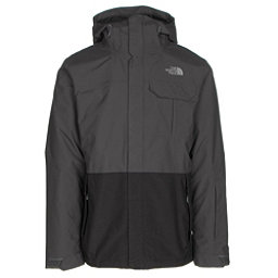 The North Face Garner Triclimate Mens Insulated Ski Jacket (Previous Season), Asphalt Grey-TNF Black, 256