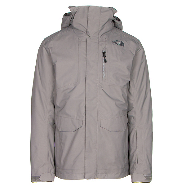 The North Face ThermoBall Snow Triclimate Mens Insulated Ski Jacket (Previous Season), Zinc Grey, 600