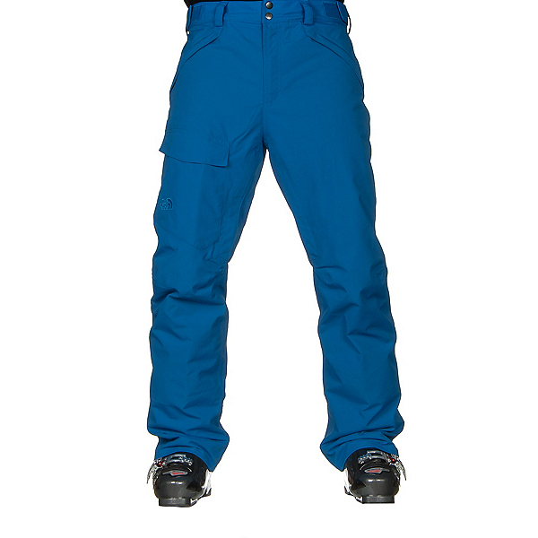 The North Face Freedom Insulated Mens Ski Pants (Previous Season), Bomber Blue, 600
