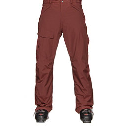 The North Face Freedom Insulated Mens Ski Pants (Previous Season), Hot Chocolate Brown, 256