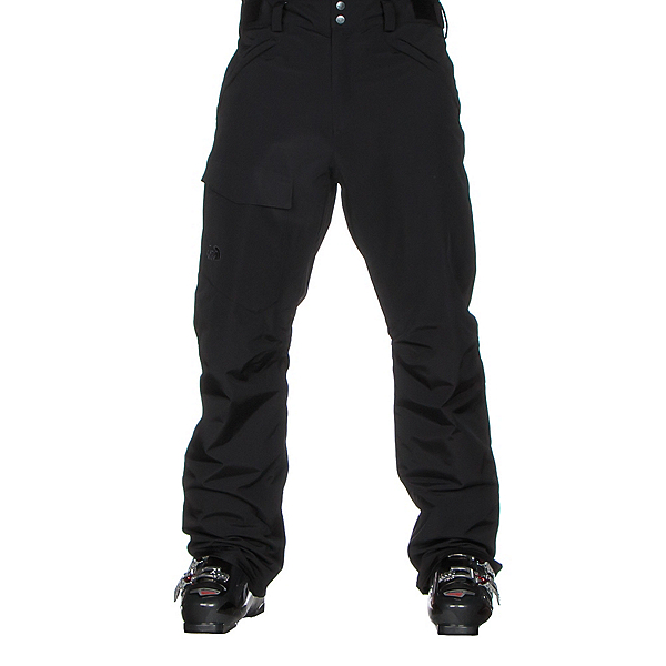 The North Face Freedom Insulated Short Mens Ski Pants (Previous Season), TNF Black, 600