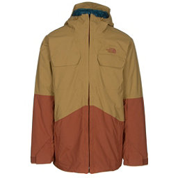 The North Face Brogoda Mens Insulated Ski Jacket (Previous Season), Bronze Mist-Gingerbread Brown, 256
