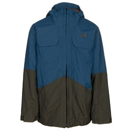 The North Face Brogoda Mens Insulated Ski Jacket (Previous Season), Prussian Blue-Rosin Green, 256