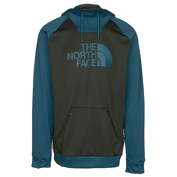 The North Face Brolapse Mens Hoodie (Previous Season), Rosin Green-Prussian Blue, 600