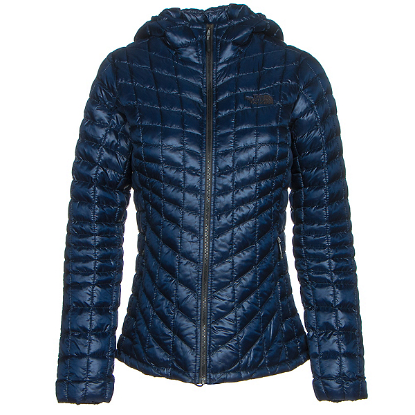 The North Face ThermoBall Hoodie Womens Jacket (Previous Season), Cosmic Blue, 600