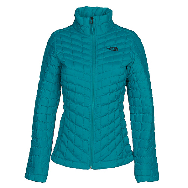 The North Face Stretch ThermoBall Womens Jacket, Harbor Blue, 600