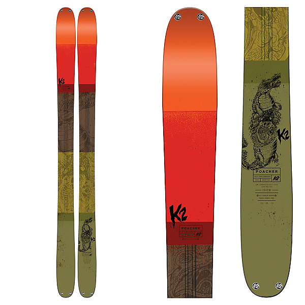 K2 Poacher Skis 2017, , 600