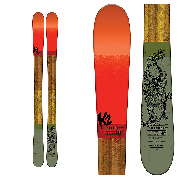 K2 Poacher Jr. Kids Skis, , 600