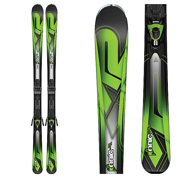 K2 Konic 78Ti Skis with Marker M3 10 Bindings, , 600