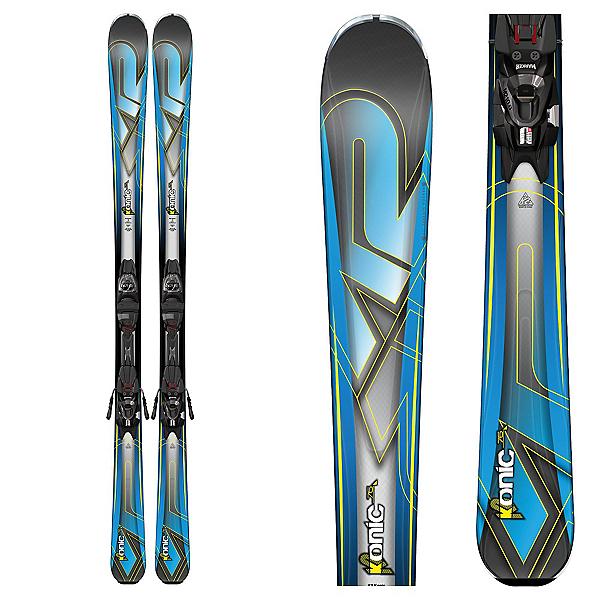 K2 Konic 76 Skis with Marker M2 10 Bindings, , 600