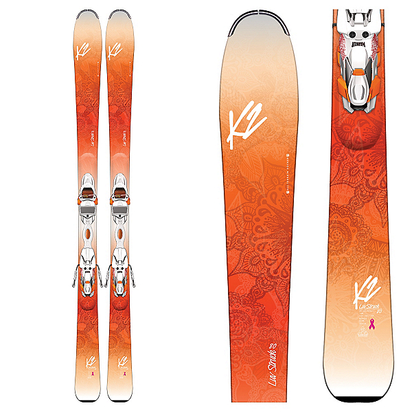 K2 Luv Struck 80 Womens Skis with Marker ER3 10 TCx Bindings 2017, , 600