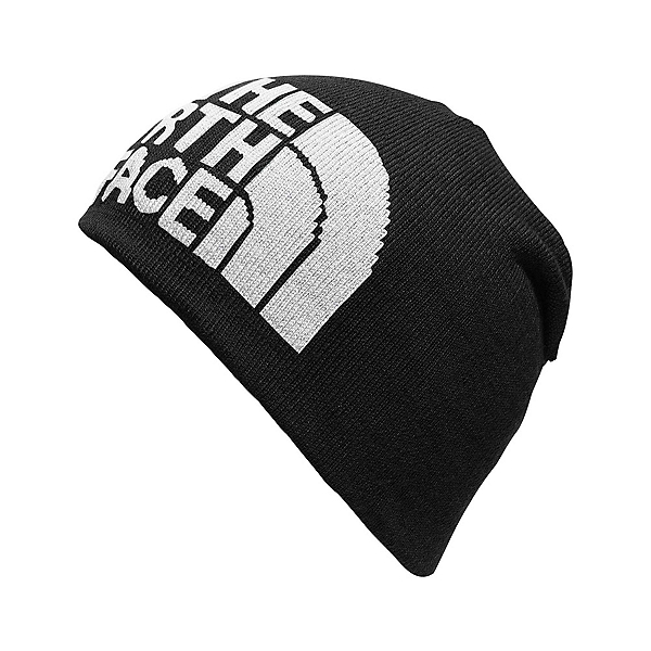 The North Face Highline Beanie (Previous Season), TNF Black-High Rise Grey, 600