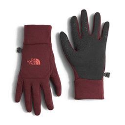 The North Face Etip Womens Gloves (Previous Season), Deep Garnet Red, 256