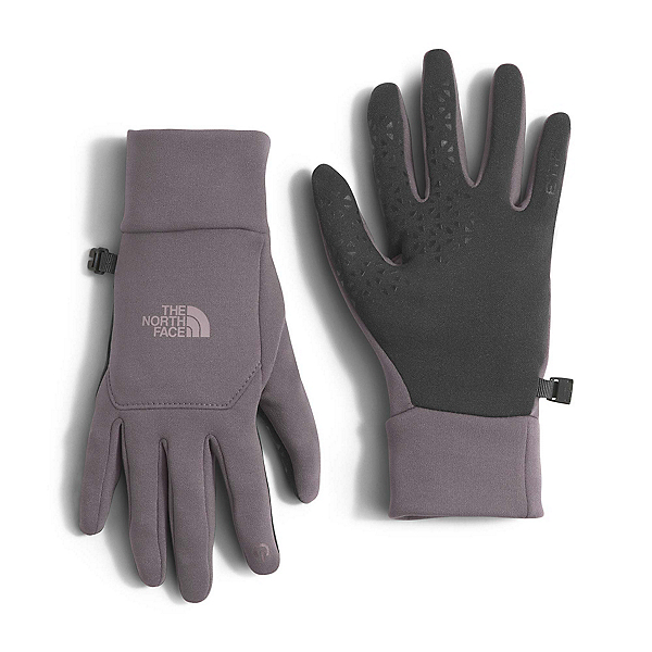 The North Face Etip Womens Gloves (Previous Season), Rabbit Grey, 600