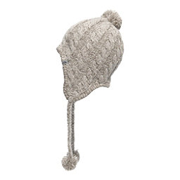 The North Face Womens Fuzzy Earflap Beanie, Vintage White-Vintage White, 256