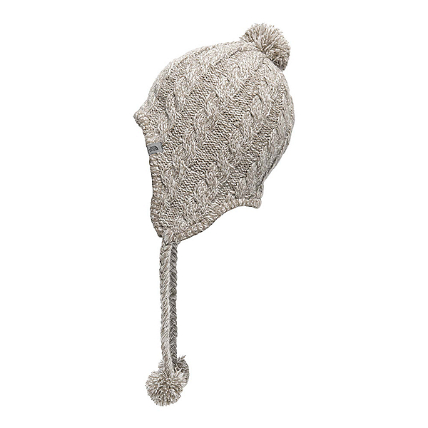 The North Face Womens Fuzzy Earflap Beanie, Vintage White-Vintage White, 600