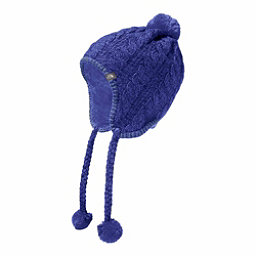 The North Face Womens Fuzzy Earflap Beanie, Bright Navy, 256