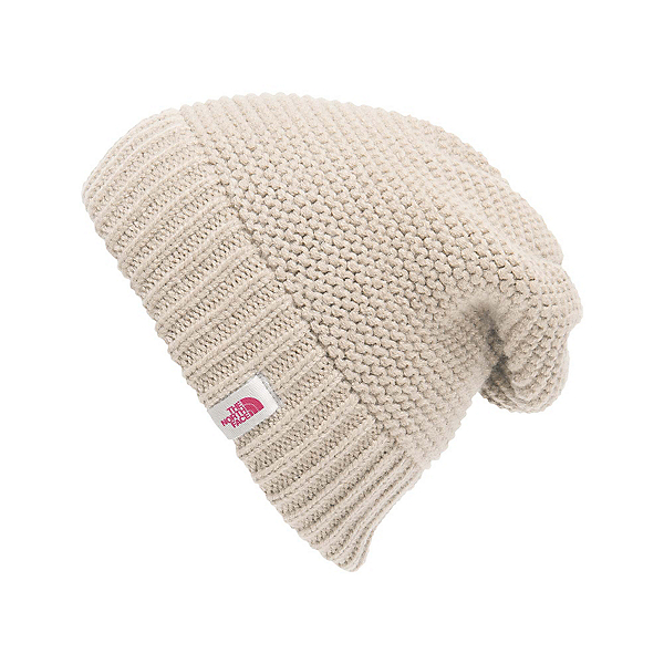 The North Face Womens Purrl Stitch Beanie (Previous Season), Vintage White, 600