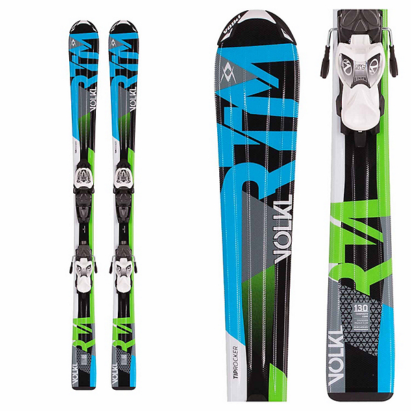 Volkl RTM Jr. Kids Skis with Marker 3Motion Bindings, , 600