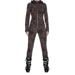 Bogner Mila Womens One Piece Ski Suit, Leopard, 256