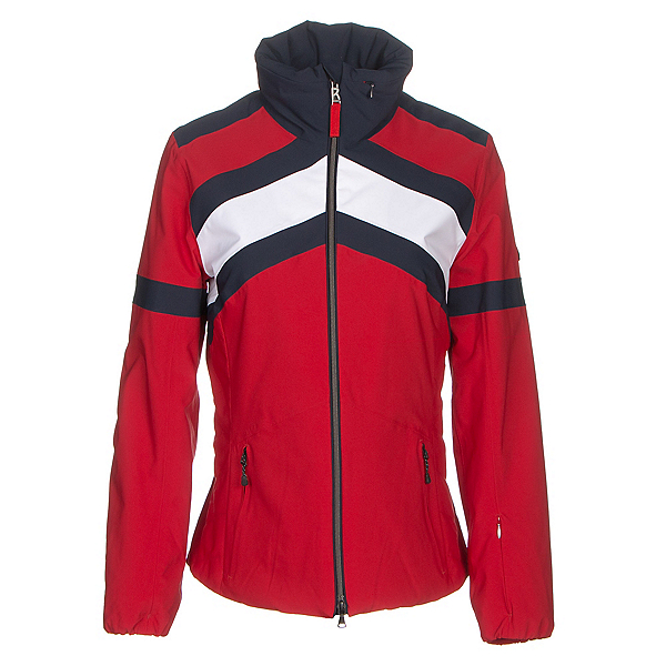 Bogner Fire + Ice Sianna Womens Insulated Ski Jacket, Signal Red, 600