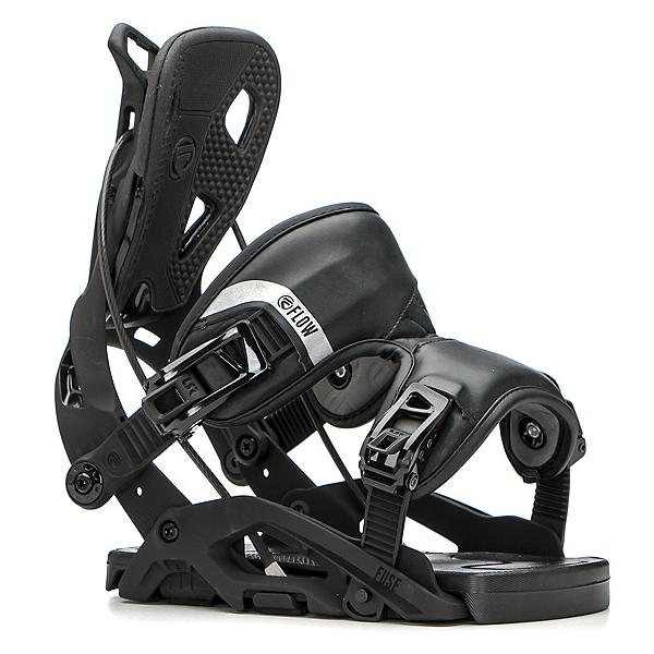 Flow Fuse Snowboard Bindings, Black, 600