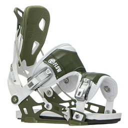 Flow NX2 Snowboard Bindings, White-Green, 256