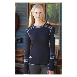 Alp-n-Rock Slopeside Long Sleeve Crew Womens Shirt, Black, 256