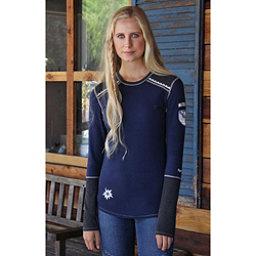 Alp-n-Rock Vintage Snowflake II Womens Shirt, Dress Blues, 256