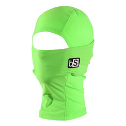 BlackStrap Hood Kids Balaclava, Bright Green, 256
