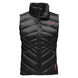 The North Face PR Aconcagua Vest Womens Vest (Previous Season), TNF Black-Meadow Pink, 256