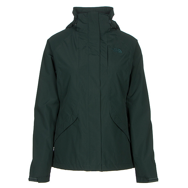 The North Face Boundary Triclimate Womens Insulated Ski Jacket (Previous Season), Darkest Spruce, 600