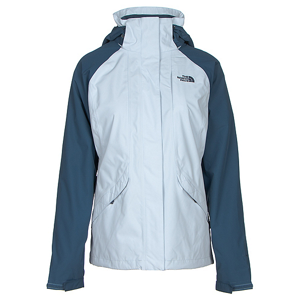 The North Face Boundary Triclimate Womens Insulated Ski Jacket (Previous Season), Arctic Ice Blue-Shady Blue, 600