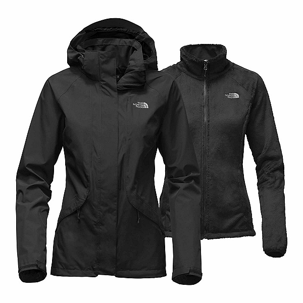 The North Face Boundary Triclimate Womens Insulated Ski Jacket, TNF Black, 600