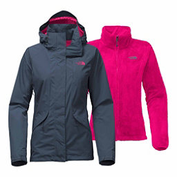 The North Face Boundary Triclimate Womens Insulated Ski Jacket, Ink Blue, 256