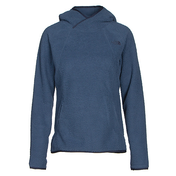 The North Face Sherpa Pullover Womens Hoodie (Previous Season), Shady Blue, 600
