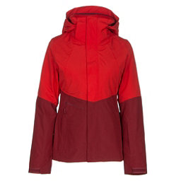 The North Face Garner Triclimate Womens Insulated Ski Jacket (Previous Season), High Risk Red-Biking Red, 256