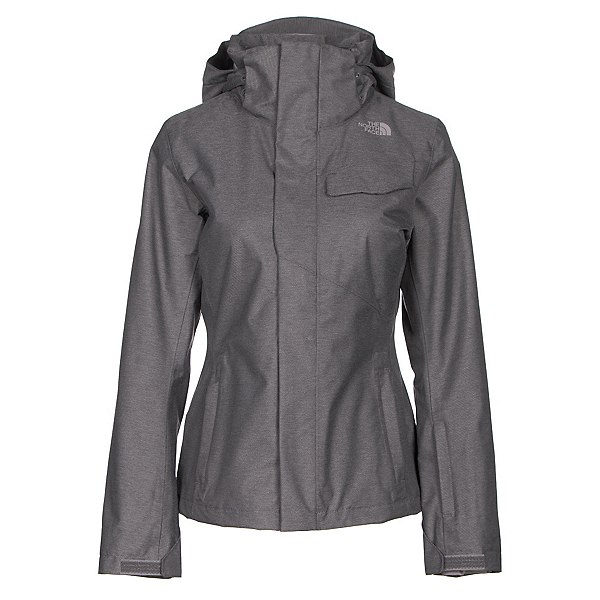 The North Face Helata Triclimate Womens Insulated Ski Jacket (Previous Season), Rabbit Grey, 600