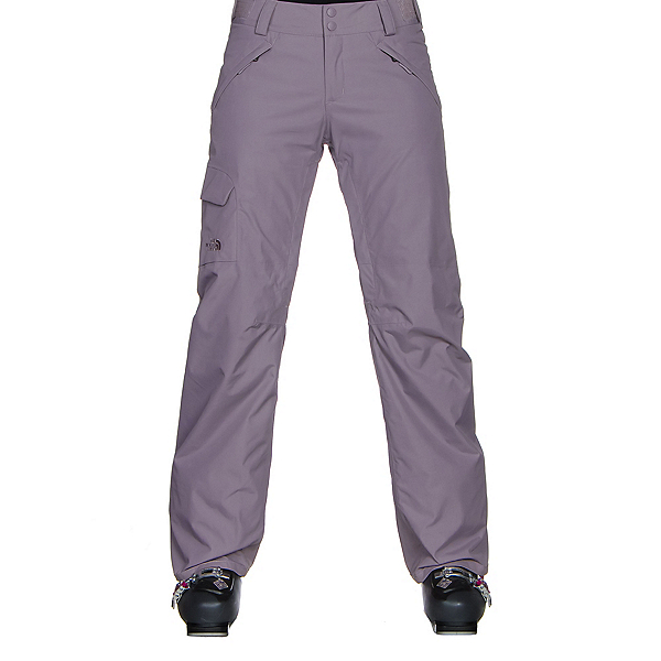 The North Face Freedom LRBC Insulated Womens Ski Pants (Previous Season), Quail Grey, 600