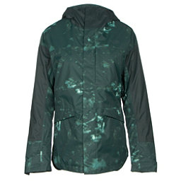 The North Face Crosstown Womens Insulated Ski Jacket (Previous Season), Darkest Spruce Jungle Camo Pri, 256