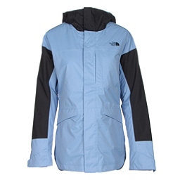 The North Face Crosstown Womens Insulated Ski Jacket (Previous Season), Grapemist Blue-TNF Black, 256
