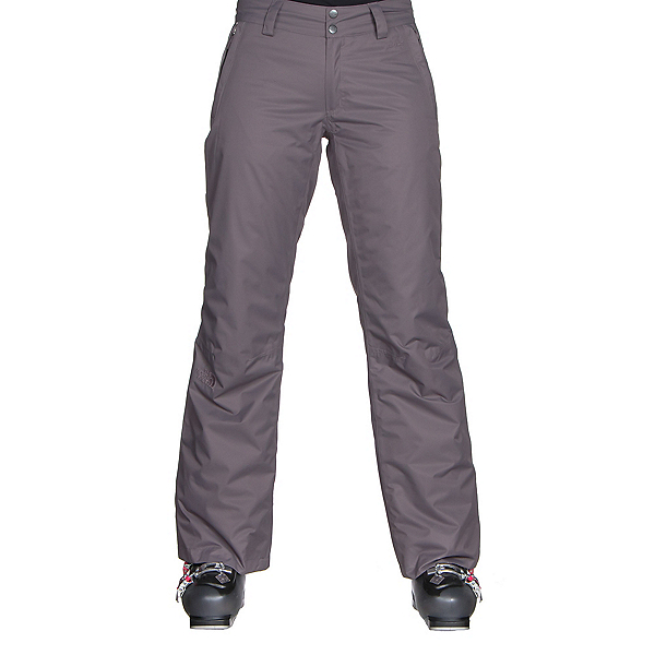 The North Face Sally Pant Long Womens Ski Pants (Previous Season), Rabbit Grey, 600
