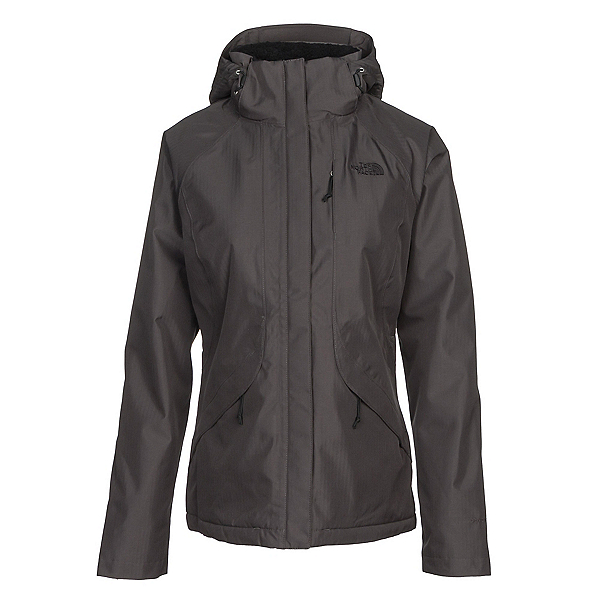 The North Face Inlux Womens Insulated Ski Jacket, Asphalt Grey, 600