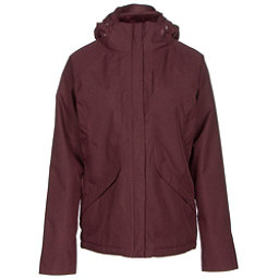 The North Face Inlux Womens Insulated Ski Jacket (Previous Season), Deep Garnet Red Heather, 256