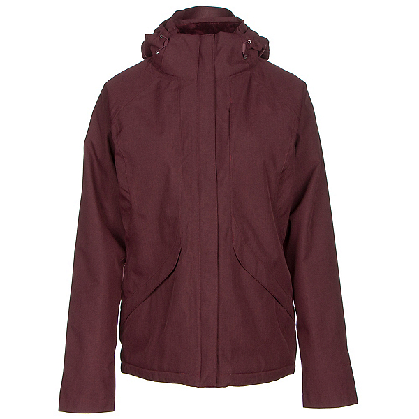 The North Face Inlux Womens Insulated Ski Jacket (Previous Season), Deep Garnet Red Heather, 600