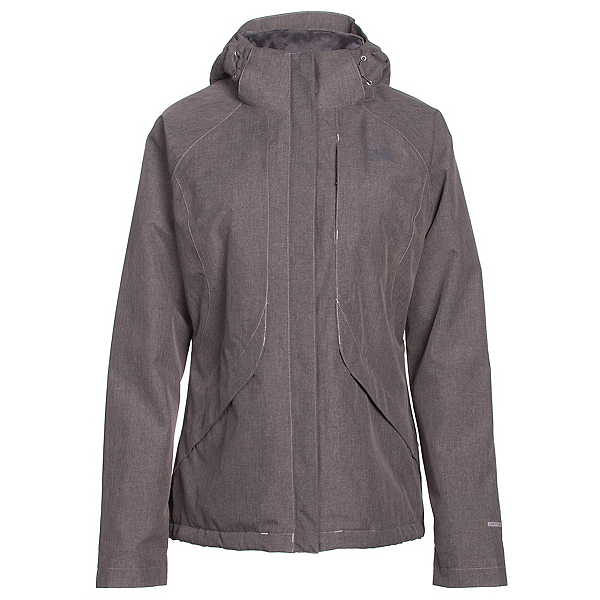 The North Face Inlux Womens Insulated Ski Jacket (Previous Season), Quail Grey Heather, 600