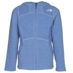 The North Face Viva Fleece Hoodie Girls Jacket (Previous Season), Grapemist Blue Heather, 256