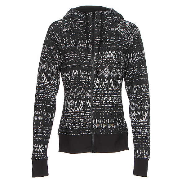The North Face French Terry Lace Print Full-Zip Womens Hoodie (Previous Season), , 600