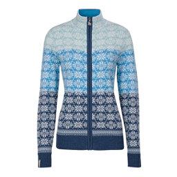 Meister Rose Zip Womens Sweater, Denim-Winter White-Robin-Glaci, 256