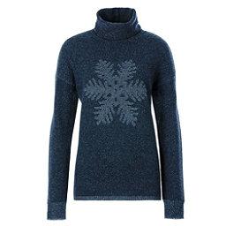 Meister Sofia Womens Sweater, Denim-Pearl Gray Heather, 256